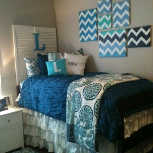 DIY DORM Chevron Canvas