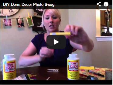 DIY Your Dorm: Photo Swag