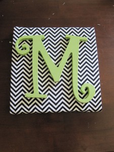DIY DORM canvas monogram fabric